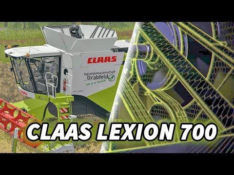 Claas Lexion 700 series new v1.0