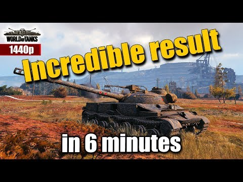 WOT: Object 907 [KAZNA], Incredible result in just 6 minutes