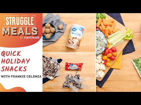 Frankie's Go-To Snacks For Surviving The Holidays