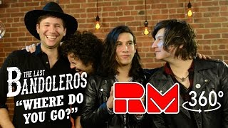 """Watch the uncut 360 interactive camera view of The Last Bandoleros performing their hit debut single  """"Where Do You Go"""" in the Real Magic TV Studio. Stay Tuned for multi-camera full songs, 3D videos, and magic with the band!The Last Bandoleros are on a roll. The group has sold-out New York City's Rockwood Music Hall as headliner and opened for Canadian chanteuse Feist at Webster Hall (NYC). They've performed live with Sting and also feature as backing vocalists on his new single """"I Can't Stop Thinking About You"""" currently climbing the AAA radio and iTunes rock charts. Tour dates with Sting in 2017 were just announced and past tours have included The Mavericks, Marc Broussard and Los Lonely Boys."""