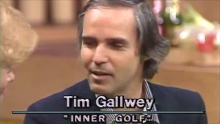 Inner Golf with Tim Gallwey, how to quiet Self 1 before your next round!
