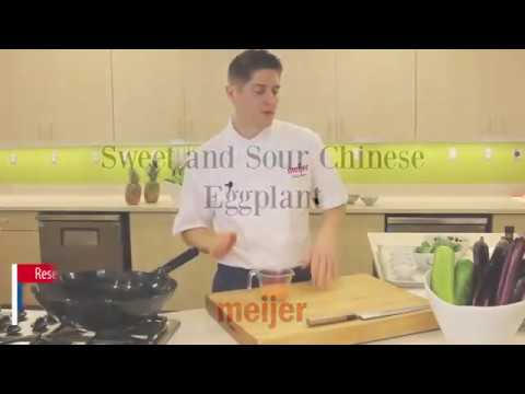 Sweet and Sour Chinese Eggplant Recipe