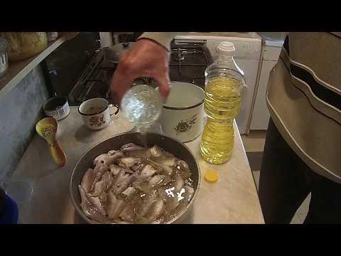 консервы из леща в домашних условиях видео