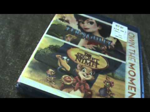 Fergully The Last Rainforest/The Secret Nimh Blu-Ray Unboxing