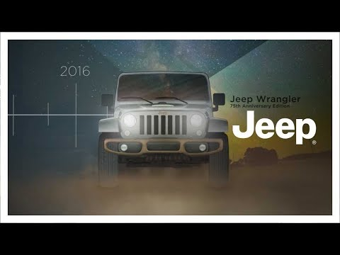 75th Anniversary Evolution of Jeep brand Vehicles