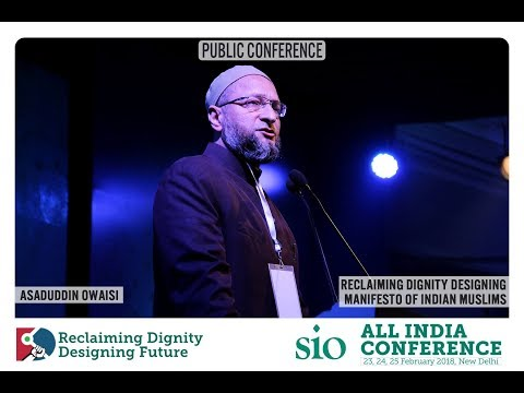 Video Asaduddin Owaisi Speech In SIO Conference New Delhi 2018 download in MP3, 3GP, MP4, WEBM, AVI, FLV January 2017