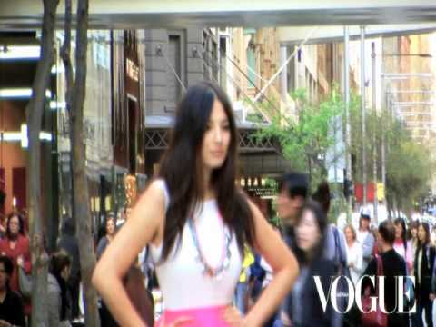 Jessica Gomes: Vogue Australia's Fashion Night Out