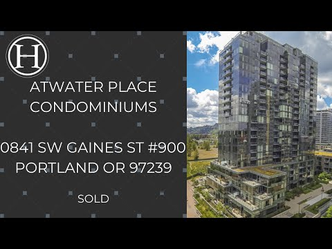 Portland Waterfront Condo For Sale Atwater Place