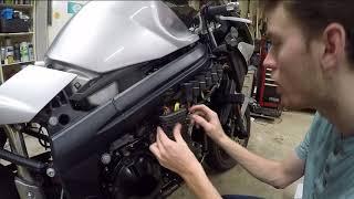8. Regulator/Rectifier Install Triumph Sprint ST