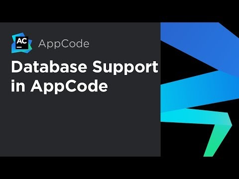 Database Support in AppCode