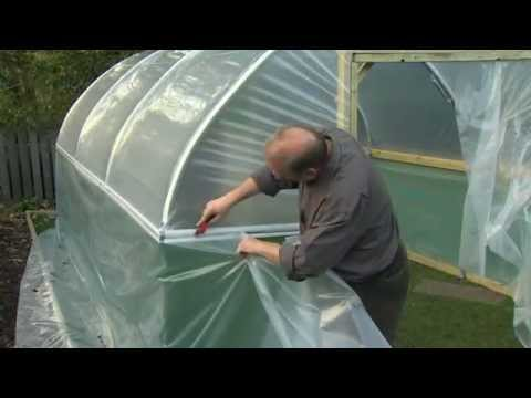 polytunnels - Are you sitting comfortably with a cup of something nice, if not this is where the free tea bag provided with your First Tunnels Polytunnel will come in very...