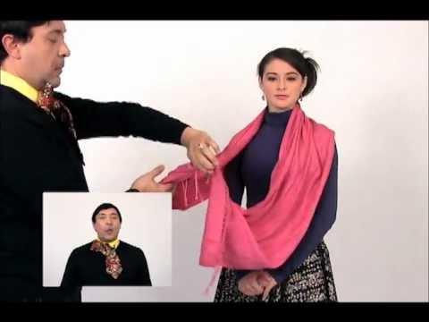 Moda: Cómo Usar un Pañuelo de Mil Maneras Distintas - Escuadrón de Belleza de SuperLatina