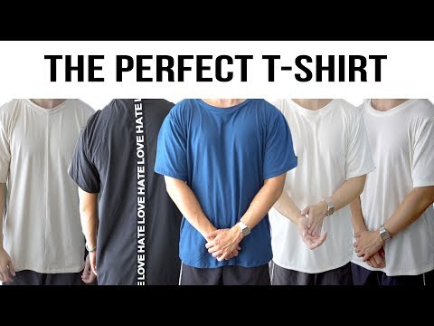 The perfect t-shirts | Wardrobe from scratch #1