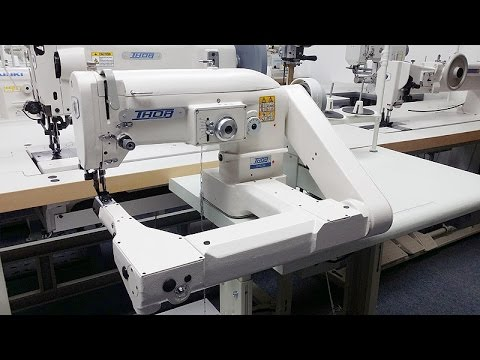 THOR GT2156 Feed-Off-The-Arm ZIG ZAG Walking Foot Sewing Machine