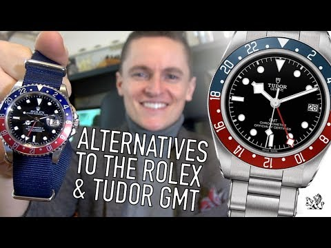 10 Affordable Non-Homage Alternatives To The Rolex & Tudor Black Bay GMT Watch - $100 to $5000+ (видео)