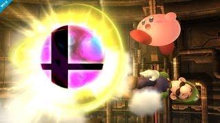 Super Smash Bros Brawl VS Wii U/3DS Final Smashes Comparison
