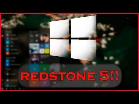 Windows 10 Build 17604   A REDSTONE 5 CHEGOU!!