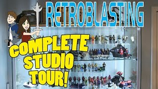 Video RetroBlasting: The COMPLETE STUDIO TOUR MP3, 3GP, MP4, WEBM, AVI, FLV Maret 2018