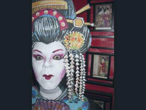geisha face makeup. Geisha! Face Paint