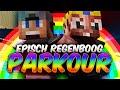 Episch Regenboog Parkour