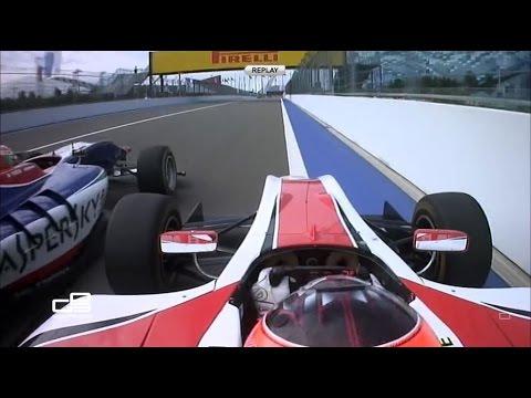 GP3 2015 Sochi. Ocon vs. Fuoco