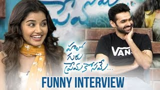 Video Hero Ram And Anupama Hilarious Interview About Hello Guru Prema Kosame | Manastars MP3, 3GP, MP4, WEBM, AVI, FLV Januari 2019