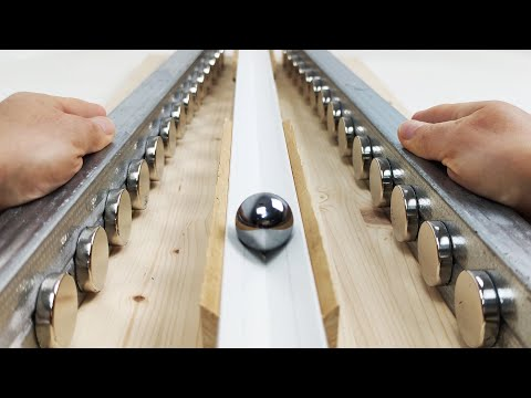 Play this video Magnetic Accelerators  Magnetic Games