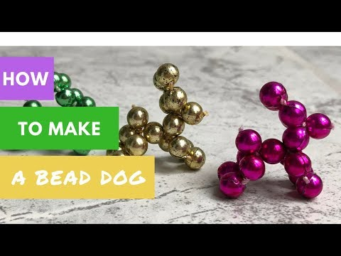 How to Make a Bead Dog