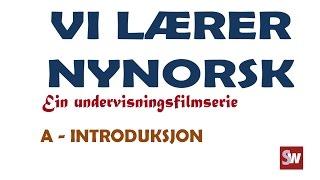 Norsk: Vi lærer nynorsk