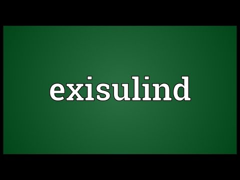 Exisulind Meaning
