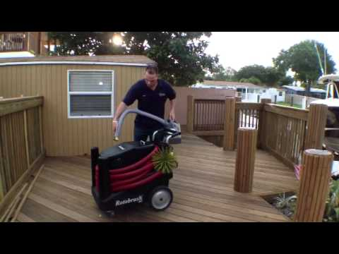Sanitizing Rotobrush Air Duct Cleaning Machine Air Duct Cleaning Service | Universal Air and Heat