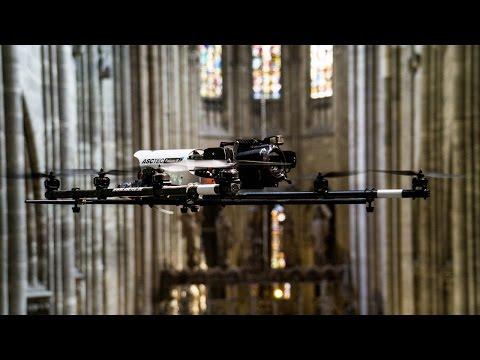 Drohneninspektion ohne GPS-Empfang.