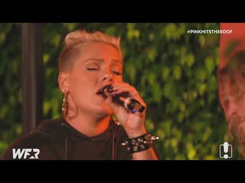 "P!nk ""What About Us"" (Acoustic) LIVE At WFR 2017"