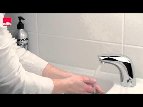 Сенсорный смеситель ORAS видео