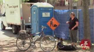 Blind Woman Toilet Prank