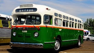 One of the best rides of 2014 happened after the SEPTA roadeo when I rode on a 1959 General Motors GM TDH-3714 Old Look painted in the Philadelphia Transportation Company scheme. More information will be added soonPowertrain: Detroit Diesel 6-71Transmission: Spicer 2 speed transmission