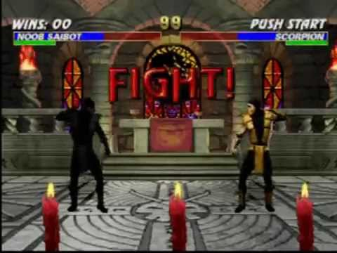 mortal kombat trilogy playstation moves