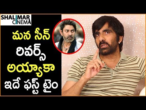 Funny movies - Ravi Teja About Jagapathi Babu Real Character  Nela Ticket Movie Team Funny Interview