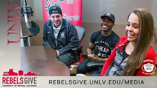 #RebelsGive to Support UNLV TV and KUNV