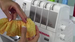 Learn how to gather using the differential feed and a longer stitch length on the Bernina L450 serger.Check out all the free Bernina L 450 overlock tutorial videos over at SewingMastery.comhttps://sewingmastery.com/bernina-l450/SewingMastery.com - Sign up to be notified via e-mail of Sara's future online courses!http://www.sewingmastery.comFacebook https://www.facebook.com/SewingMasteryTwitter https://twitter.com/sewingmasterySewing Mastery's Recommended Craftsy Classes http://craftsy.me/SaraSnuggerud_rec