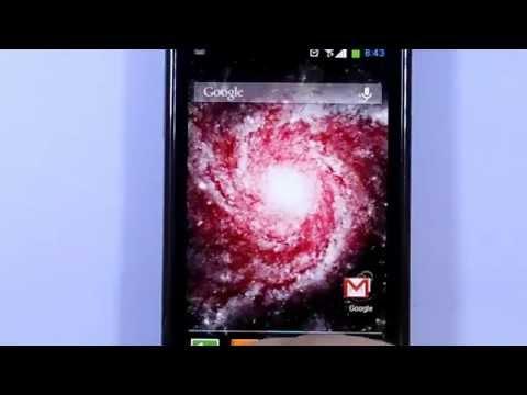 Video of Furious Galaxy Wallpaper