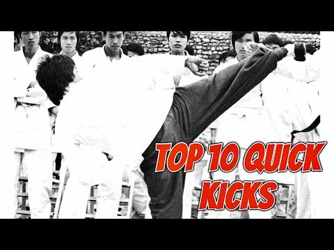 Top 10 Quick Kicks For Bruce Lee
