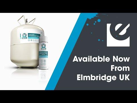 Ramsol Sanitiser Disinfectant Spray Canister Video