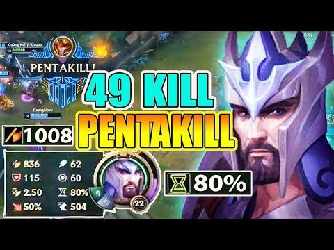 *49 KILL + PENTAKILL* CƠN ÁC MỘNG URF MANG TÊN JARVAN ! - Thời lượng: 23 phút.