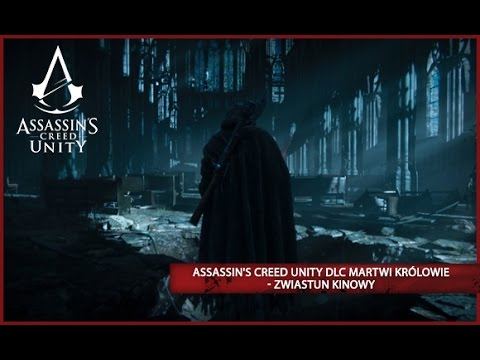 Arno zwiedza miasto Saint-Denis i jego ogromne podziemia. Saint-Denisto stara nekropolia, która skrywa największe sekrety dawno zmarłych królów Francji...Assassin's Creed Unity Martwi Królowie będzie dostępna za DARMO na  Xbox One i PC 13 stycznia i na
