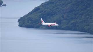 Download Video Boeing 737 Max 8 Pesawat Lion Air Landing di Bandara Sentani Kota Jayapura Papua MP3 3GP MP4
