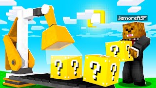 We Are Making Lucky Blocks In Minecraft Luckyblock Tycoon | JeromeASF