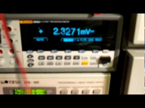 2m 1,25kW SSPA using Freescale MRFE6VP61K25H - First trial