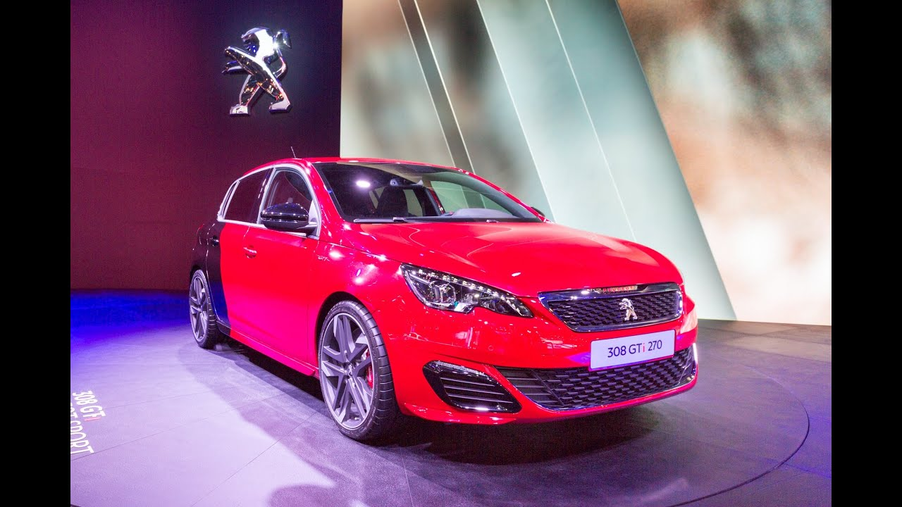 2016 Peugeot 308 GTi: Франкфурт 2015
