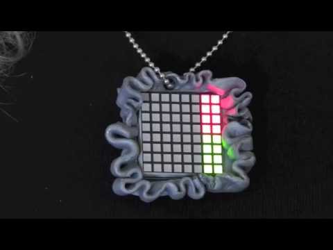 EEG Data Visualising Pendant – wearable technology for social situations
